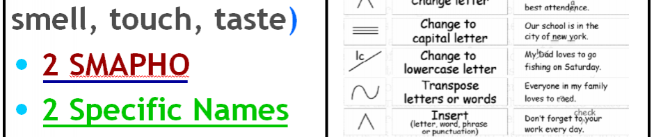 [Revision and Editing Symbols]